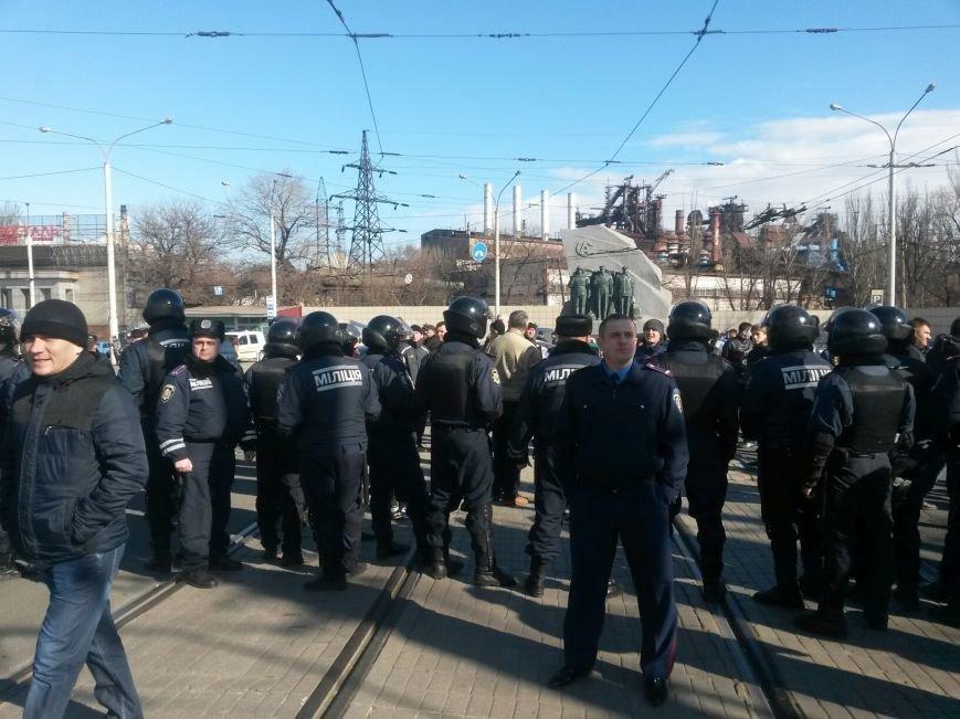 В Мариуполе участники митинга заблокировали пост-мост. Встречали оружие (ФОТО+ Дополнено), фото-1
