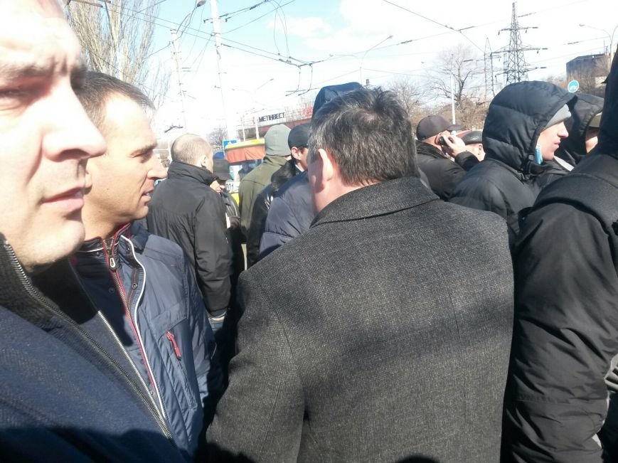 В Мариуполе участники митинга заблокировали пост-мост. Встречали оружие (ФОТО+ Дополнено), фото-21