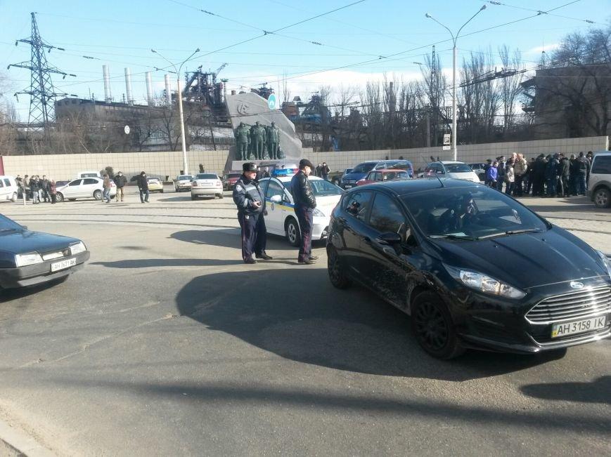 В Мариуполе участники митинга заблокировали пост-мост. Встречали оружие (ФОТО+ Дополнено), фото-9