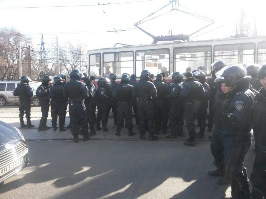 В Мариуполе участники митинга заблокировали пост-мост. Встречали оружие (ФОТО+ Дополнено), фото-10