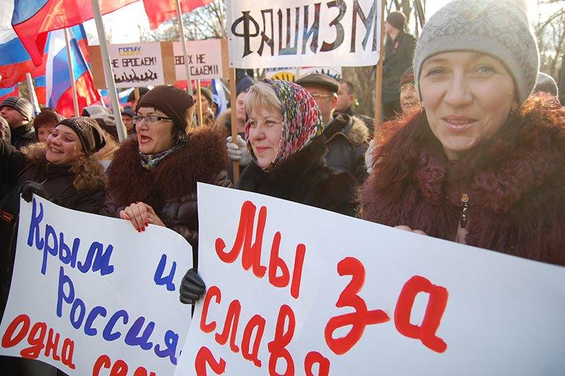 В Белгороде устроили митинг в честь результатов референдума в Крыму, фото-7