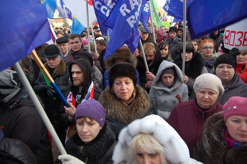 В Белгороде устроили митинг в честь результатов референдума в Крыму, фото-10