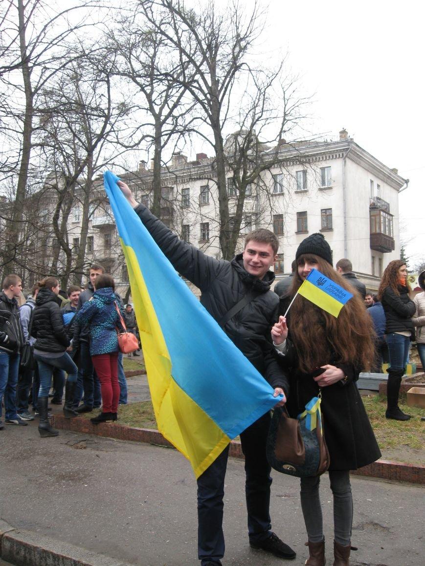 Житомир провів Всеукраїнську акцію «Голос народу» (ФОТОРЕПОРТАЖ), фото-6
