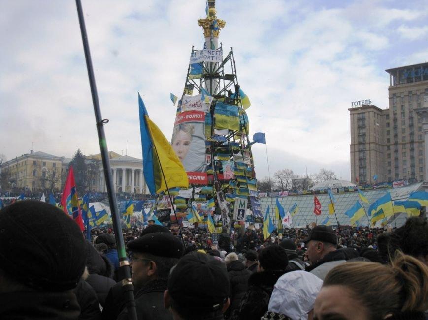 Участник Евромайдана, пенсионер из Артемовска благодарит Януковича за объединение Украины, фото-2