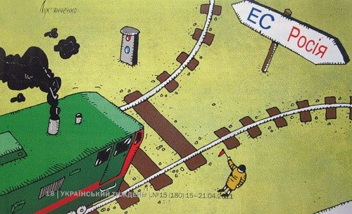 Язык международного общения: карикатуристы высказались о ситуации в Украине, России и Крыму (ФОТО), фото-4
