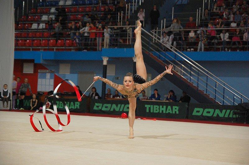 В Белгороде прошел чемпионат ЦФО по художественной гимнастике, фото-6