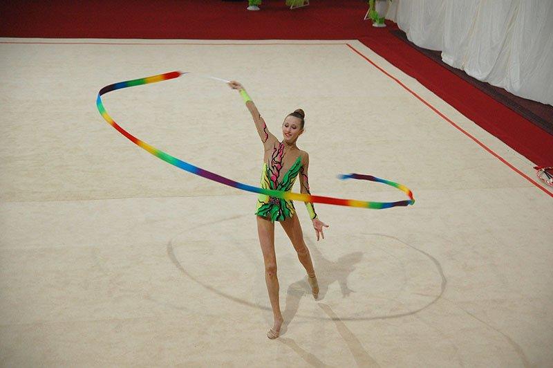 В Белгороде прошел чемпионат ЦФО по художественной гимнастике, фото-1