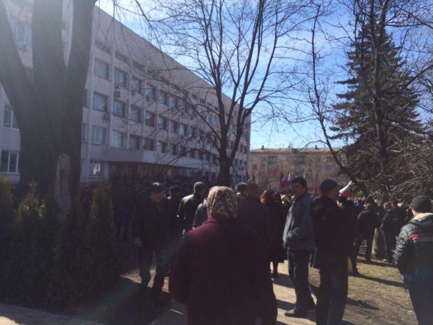 В Мариуполе начался митинг в поддержку Виктора Януковича, к которому в итоге  записали обращение (Обновляется, ФОТО, Видео), фото-5
