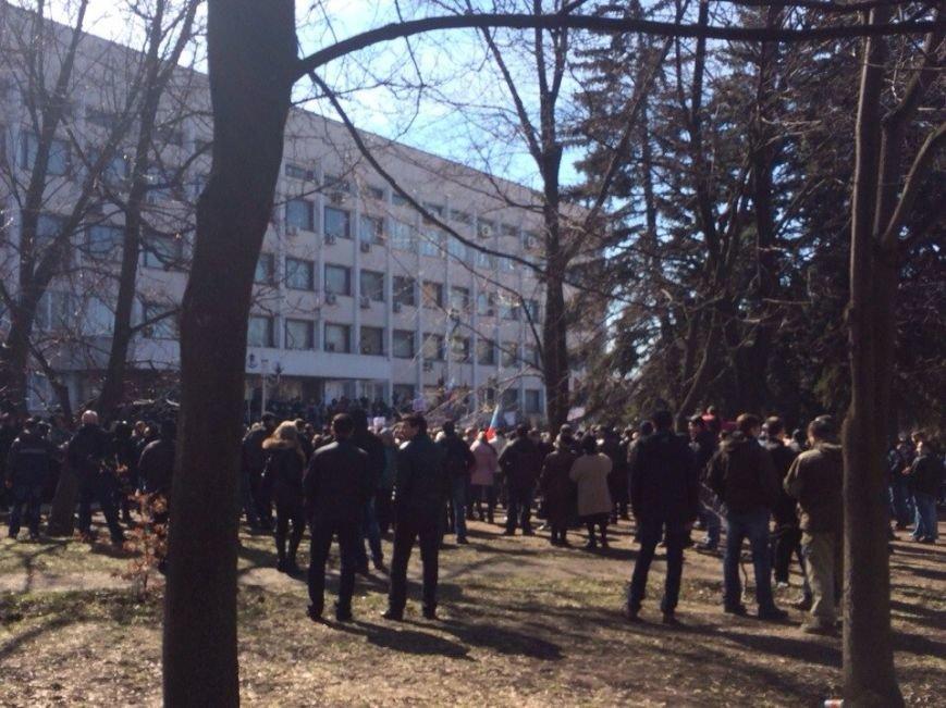 В Мариуполе начался митинг в поддержку Виктора Януковича, к которому в итоге  записали обращение (Обновляется, ФОТО, Видео), фото-3