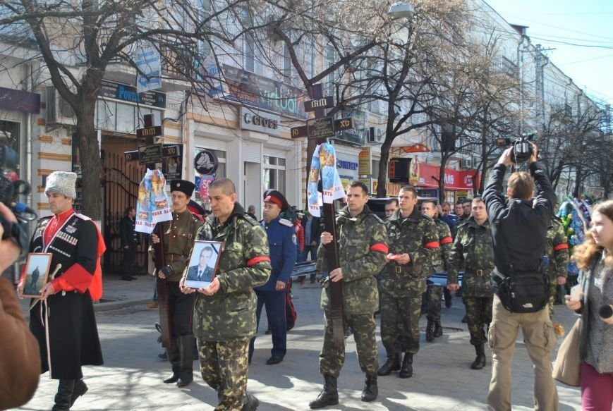 В Симферополе простились с убитыми 18 марта военным и бойцом самообороны Крыма (ФОТО), фото-7