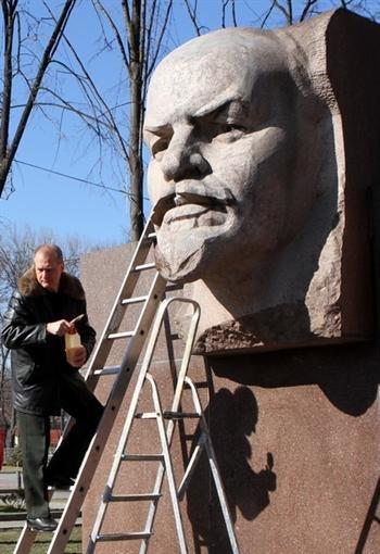 В Днепропетровске Ленина привели в порядок (ФОТО), фото-5