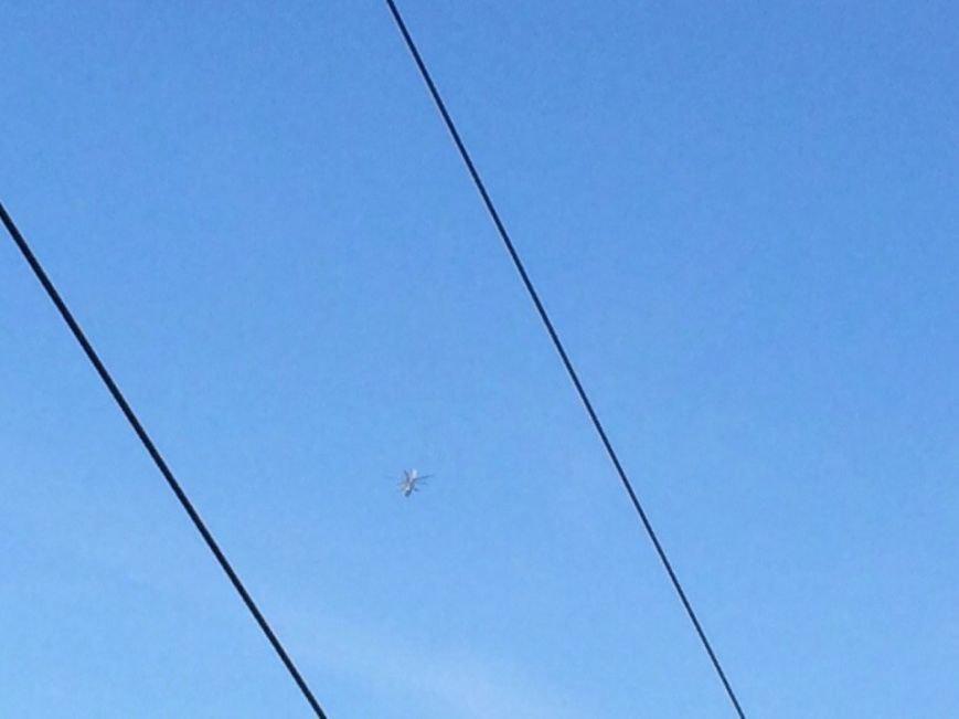 Над Мариуполем только что  пролетели два вертолета (Фотофакт+ ВИДЕО), фото-4