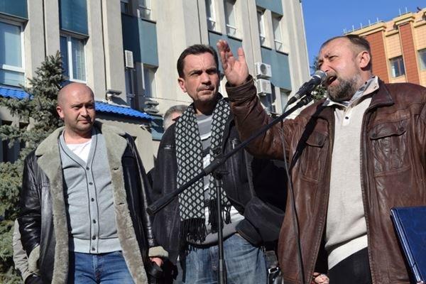 Как в Луганске проходил пророссийский митинг (ФОТО), фото-19