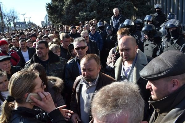 Как в Луганске проходил пророссийский митинг (ФОТО), фото-18