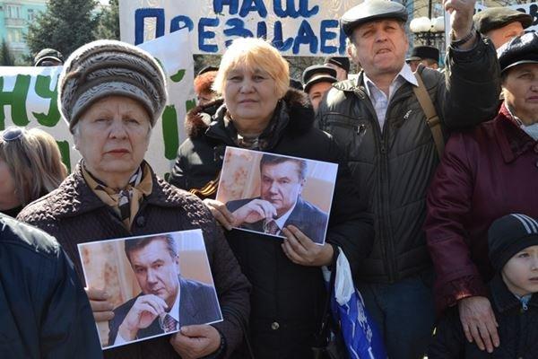 Как в Луганске проходил пророссийский митинг (ФОТО), фото-5