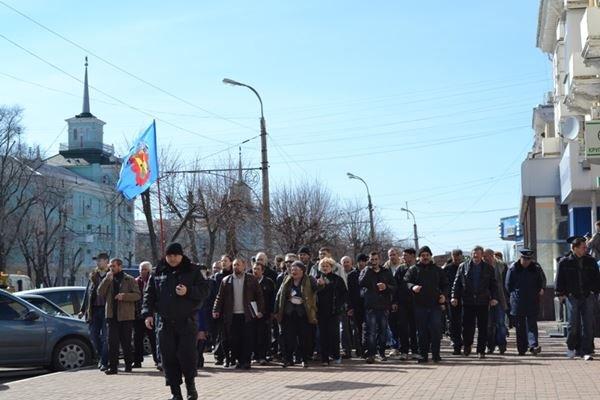 Как в Луганске проходил пророссийский митинг (ФОТО), фото-10