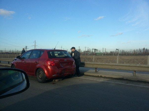 авария на Витебском проспекте