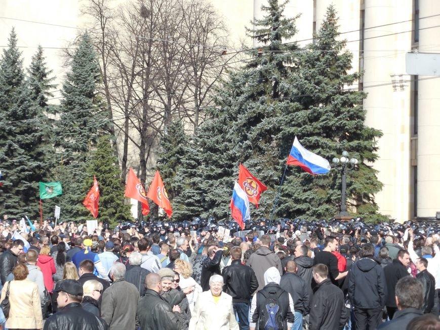 Пророссийский митинг на площади Свободы: харьковчане требуют отставки Балуты (ФОТО), фото-24