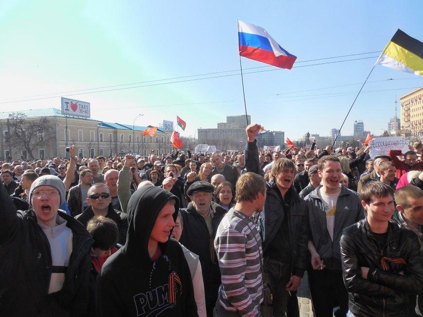 Пророссийский митинг на площади Свободы: харьковчане требуют отставки Балуты (ФОТО), фото-26