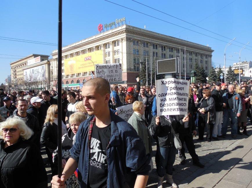 Пророссийский митинг на площади Свободы: харьковчане требуют отставки Балуты (ФОТО), фото-20
