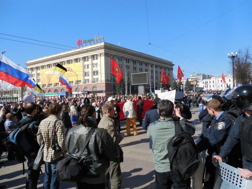 Пророссийский митинг на площади Свободы: харьковчане требуют отставки Балуты (ФОТО), фото-12