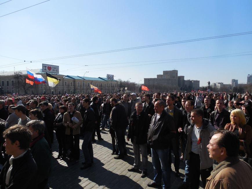 Пророссийский митинг на площади Свободы: харьковчане требуют отставки Балуты (ФОТО), фото-18