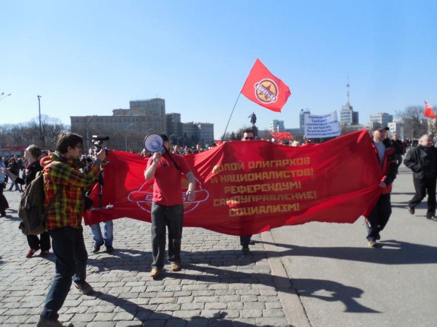 Пророссийский митинг на площади Свободы: харьковчане требуют отставки Балуты (ФОТО), фото-7