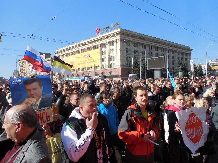 Пророссийский митинг на площади Свободы: харьковчане требуют отставки Балуты (ФОТО), фото-27