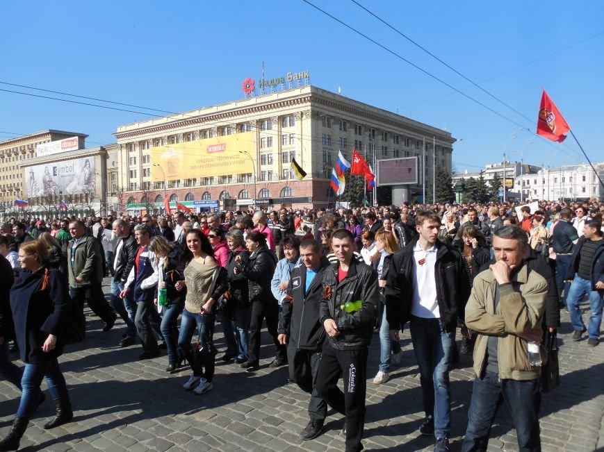 Пророссийский митинг на площади Свободы: харьковчане требуют отставки Балуты (ФОТО), фото-33