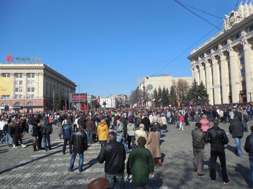 Пророссийский митинг на площади Свободы: харьковчане требуют отставки Балуты (ФОТО), фото-22