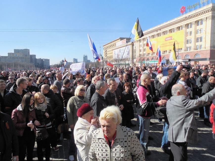 Пророссийский митинг на площади Свободы: харьковчане требуют отставки Балуты (ФОТО), фото-15