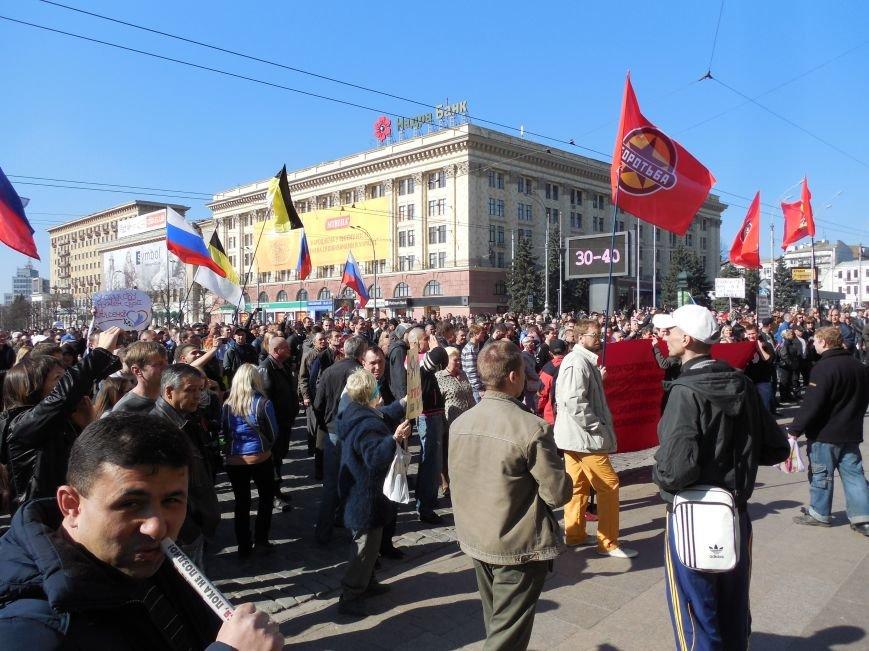 Пророссийский митинг на площади Свободы: харьковчане требуют отставки Балуты (ФОТО), фото-13