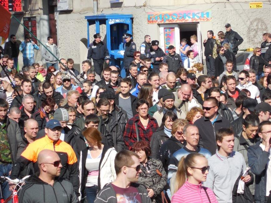 Пророссийские активисты двинулись шествием по Сумской (ФОТО), фото-6