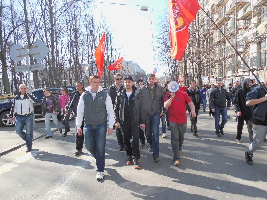 Пророссийские активисты двинулись шествием по Сумской (ФОТО), фото-10