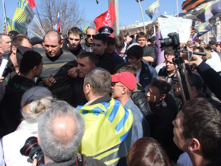 Среди протестующих пророссийских сил в Донецке произошел раскол? (ФОТО, ВИДЕО), фото-4
