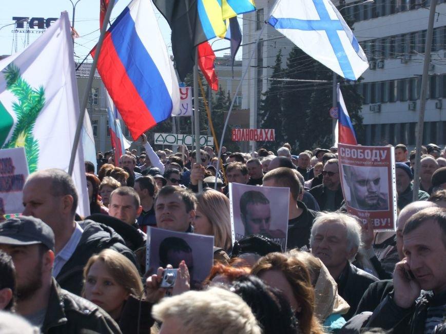 Среди протестующих пророссийских сил в Донецке произошел раскол? (ФОТО, ВИДЕО), фото-2