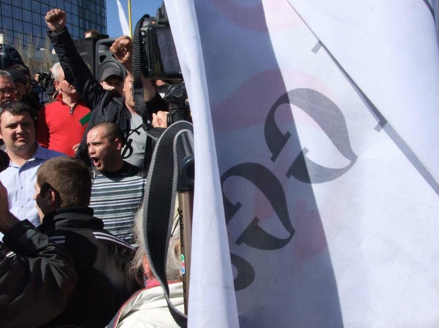 Среди протестующих пророссийских сил в Донецке произошел раскол? (ФОТО, ВИДЕО), фото-10