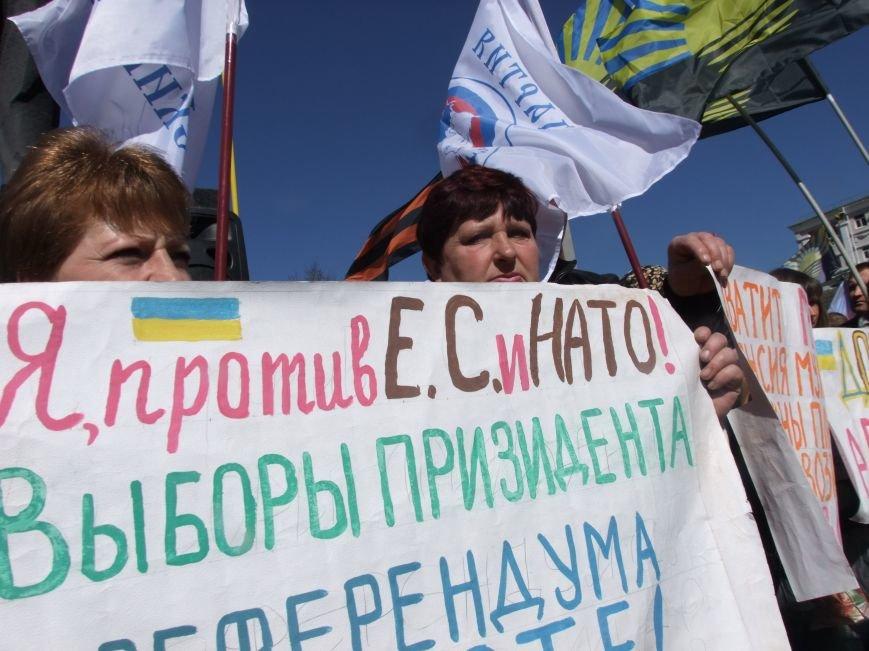 Среди протестующих пророссийских сил в Донецке произошел раскол? (ФОТО, ВИДЕО), фото-7