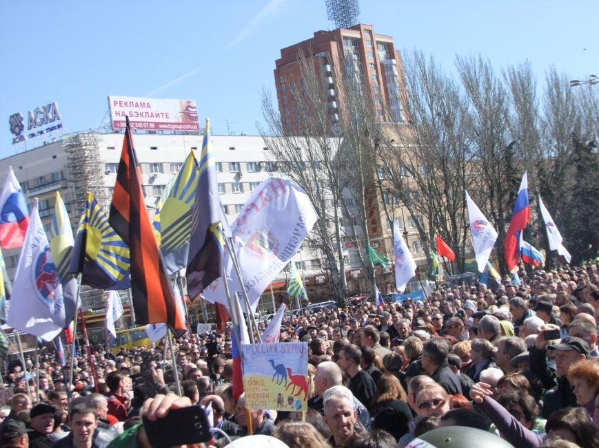 Среди протестующих пророссийских сил в Донецке произошел раскол? (ФОТО, ВИДЕО), фото-12