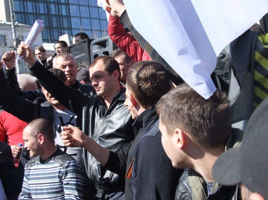 Среди протестующих пророссийских сил в Донецке произошел раскол? (ФОТО, ВИДЕО), фото-1