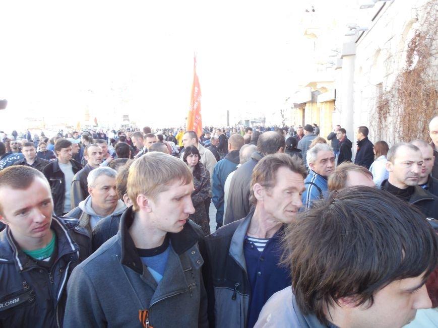 «Провокация» на митинге: брошенный нож и погоня (ФОТО), фото-3