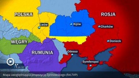 Жириновский предложил Польше, Венгрии и Румынии поделить Украину, фото-1