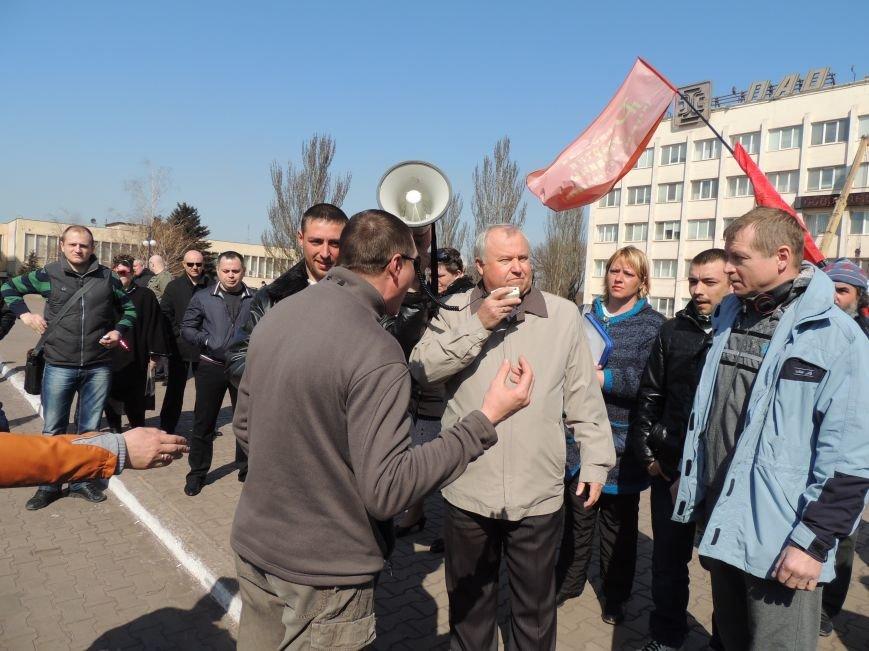 В Мариуполе азовмашевцы вышли на митинг (ФОТО), фото-6