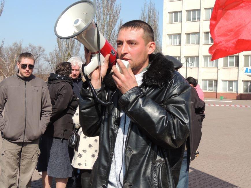 В Мариуполе азовмашевцы вышли на митинг (ФОТО), фото-8