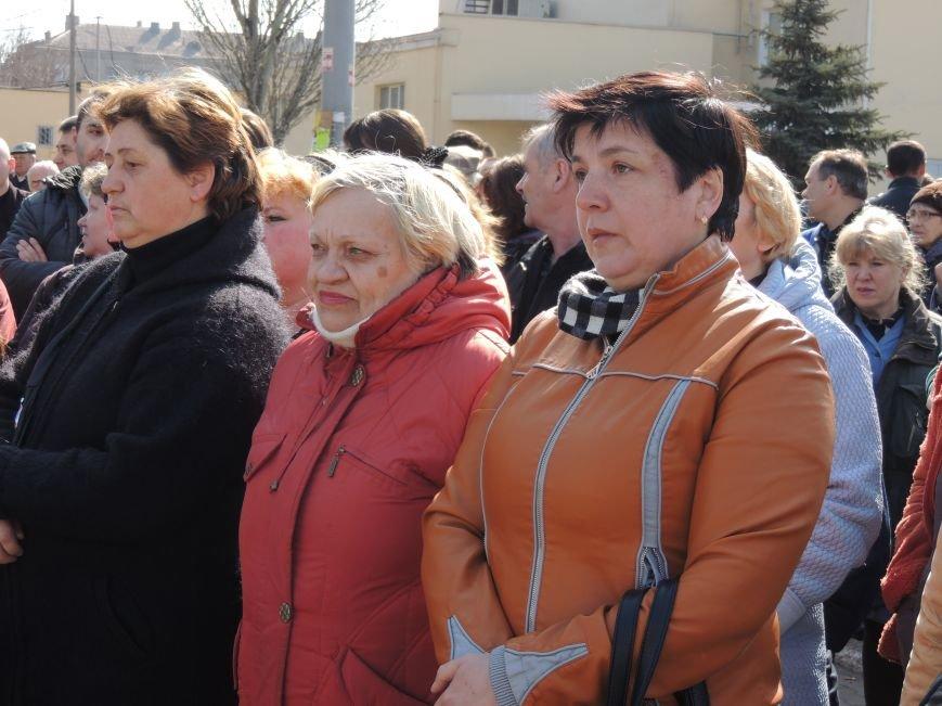 В Мариуполе азовмашевцы вышли на митинг (ФОТО), фото-9