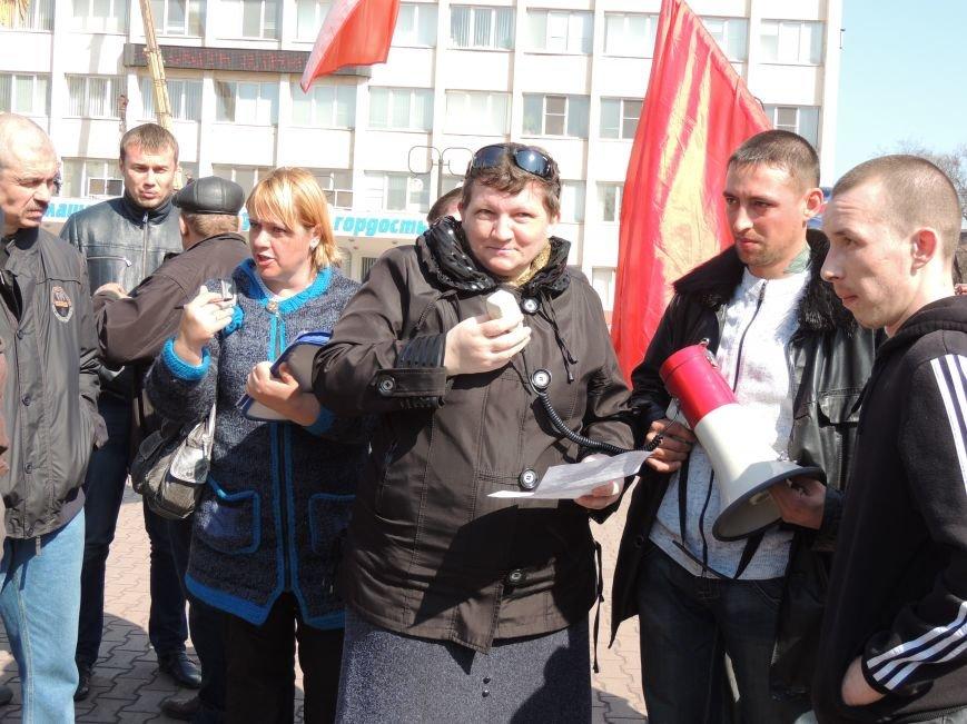 В Мариуполе азовмашевцы вышли на митинг (ФОТО), фото-5