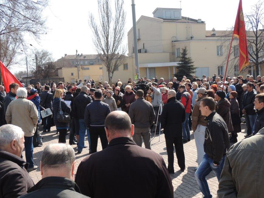 В Мариуполе азовмашевцы вышли на митинг (ФОТО), фото-3