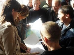 Финская певица, лауреат Евровидения посетила Днепропетровскую тюрьму (ФОТО), фото-6