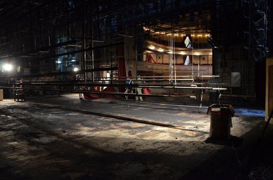 Театр Гоголя після пожежі