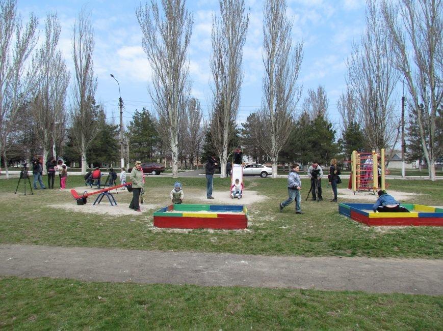 Жители Старого Крыма мечтают о  спортивной площадке  от Метинвеста (ФОТО), фото-1